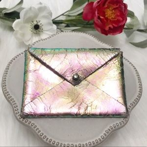 • Anthropologie • Iridescent Wallet